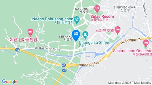 Yesan Supsok Motel Map
