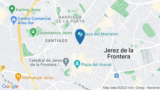 TRYP Jerez Hotel Map
