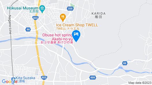 Obuseonsen Akebi-no-yu Map