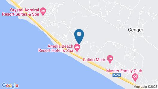 Amelia Beach Resort Hotel & Spa Map