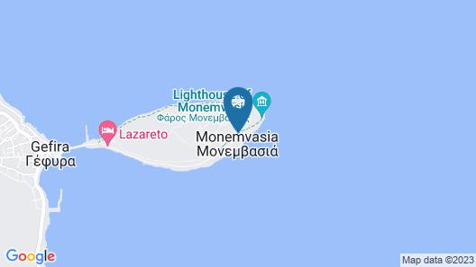 Likinia Hotel Map