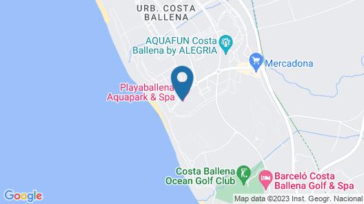 Playaballena Spa Hotel Map