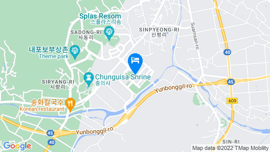 Yesan M1 Self Check-in Motel Map