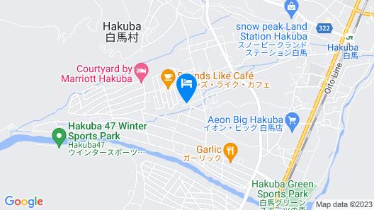 Hakuba Pension Meteor Map