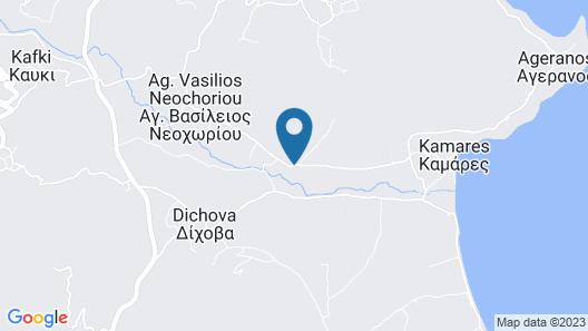Kamares Villas Boutique Hotel Map