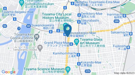 Dormy Inn Toyama Natural Hot Spring Map