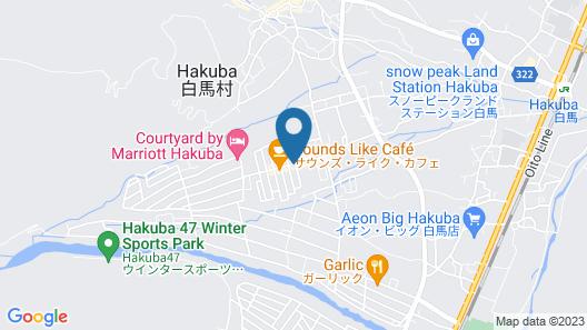 HAKUBA PENSION KARUNAJU Map