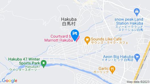 Courtyard by Marriott Hakuba Map