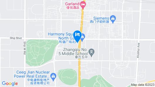 Atour Hotel Baimaiquan Shaungshan Ave Jinan Map