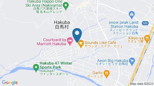 House of Finn Juhl Hotel Hakuba Map