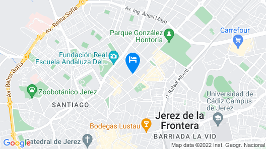 NH Avenida Jerez Map