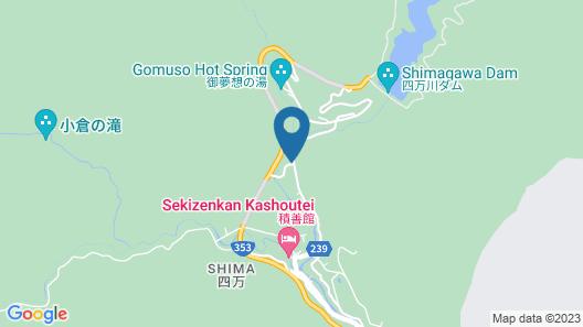 Onsen Glamping Shima Blue Map