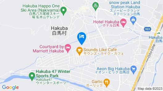 Kenman House Hakuba Map