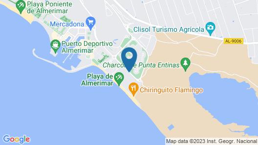 Apartamentos Dream Sea Map