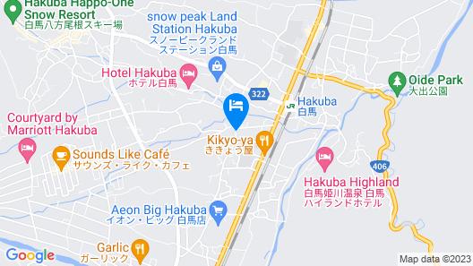 Hot Spring Lodge Fujimi Map