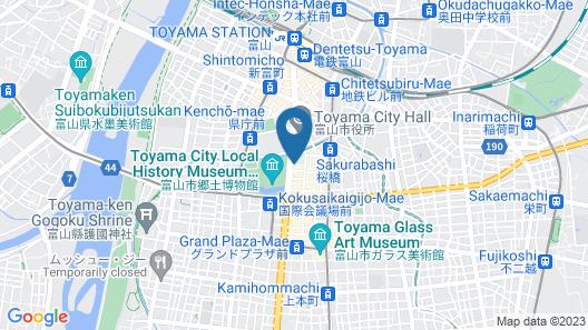 Toyama Dai-ichi Hotel Map