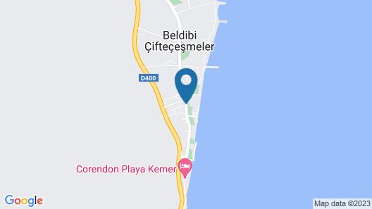 Onkel Resort Hotel - All Inclusive Map
