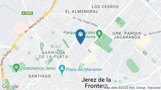 Hotel Villa Jerez Map