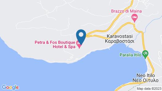 Petra Kai Fos Boutique Hotel & Spa Map