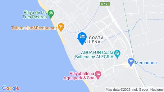 Hotel Best Costa Ballena  Map