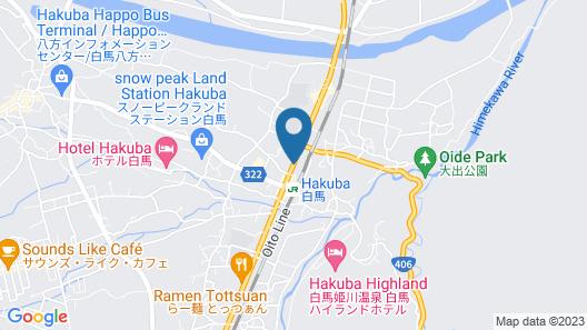 Hakuba Station Guest House Hostel eN Map