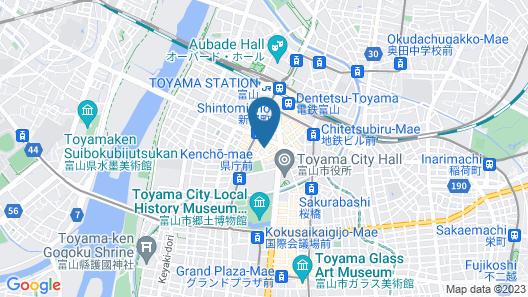 Hotel Prime inn Toyama Map