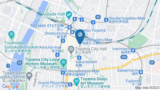 Hotel Grand Terrace Toyama Map