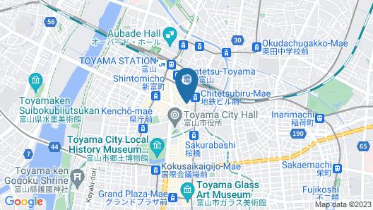Hotel Livemax Toyama Map