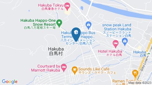 Rosen Heim HAKUBA Map