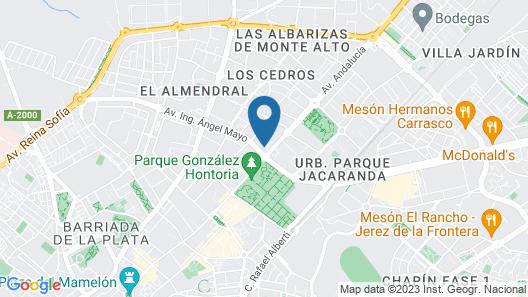 Hotel Jerez & Spa Map