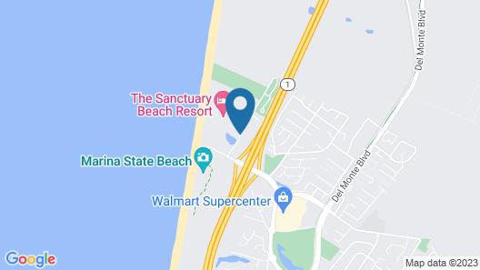 Country Inn & Suites by Radisson, Monterey Beachfront-Marina, CA Map