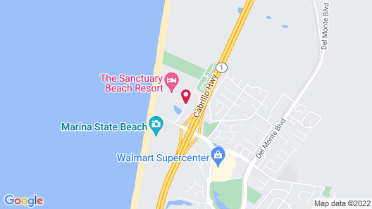Sanctuary Beach Resort Map
