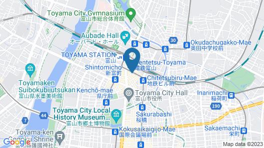 Daiwa Roynet Hotel Toyama-Ekimae Map
