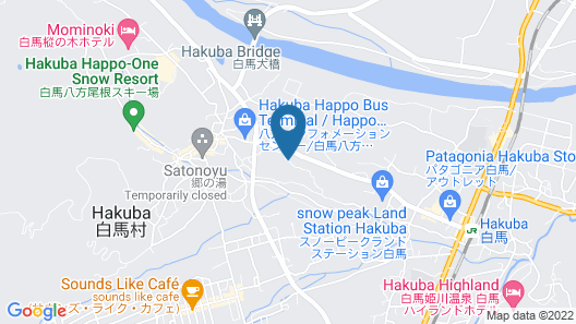 Lodge Hitokkira Map