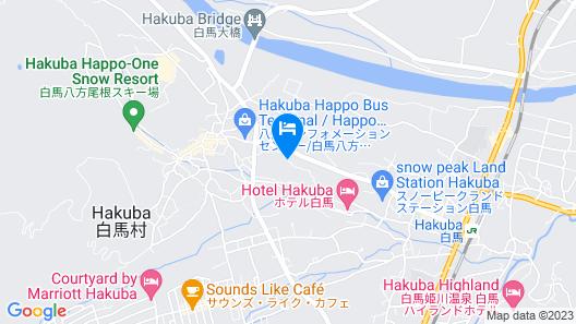 Lodge Hitokkira Map