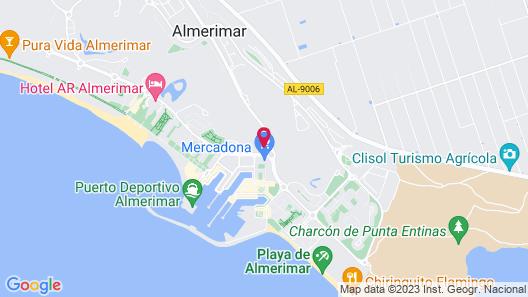 Hotel AR Golf Almerimar Map