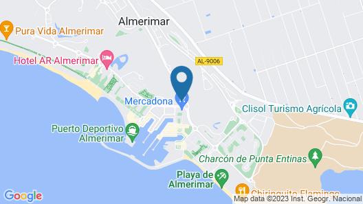 Hotel Golf Almerimar Map