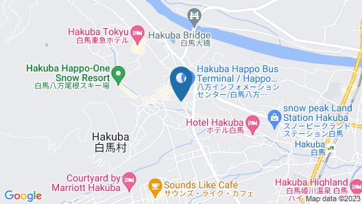 Hakuba Kokoro hotel Map