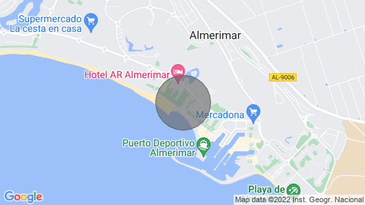 Amerimar Beach Front Golf Course Property Map