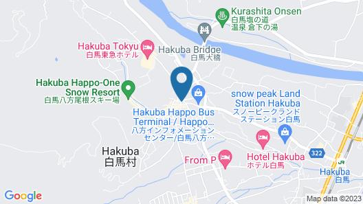 Hakuba Onsen Ryokan Shirouma-so Map