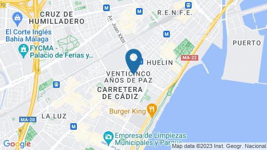 Casa Manuel y Maribel Map