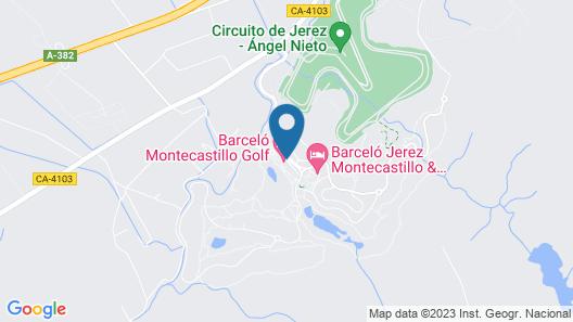 Barceló Montecastillo Golf Map
