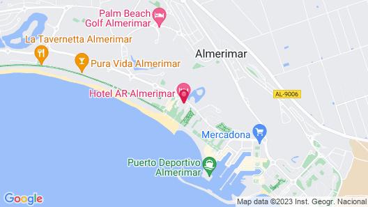 Hotel AR Almerimar Map