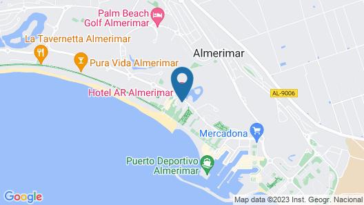 Hotel Almerimar Map