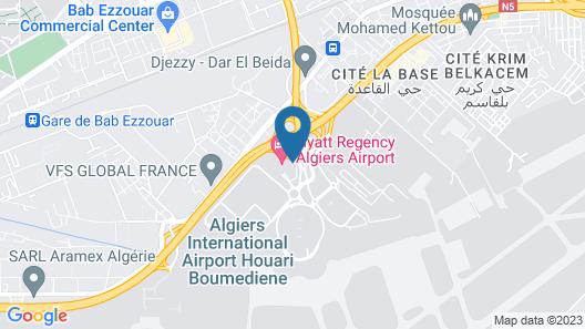 Hyatt Regency Algiers Airport Map