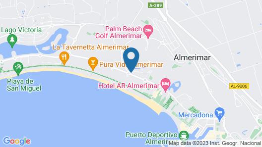 Villa Bellavista Mar Map