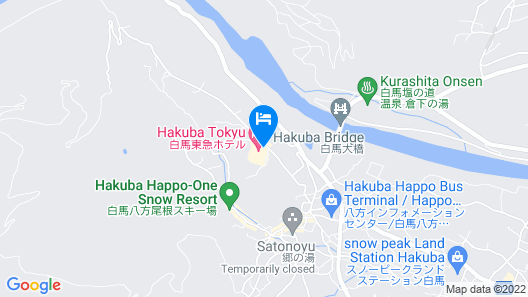 Hakuba Tokyu Hotel Map
