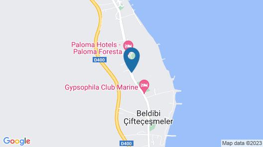 Baia Kemer Club Map