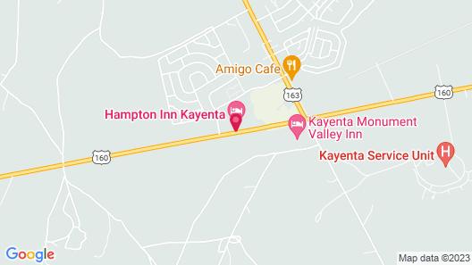 Hampton Inn Kayenta Map