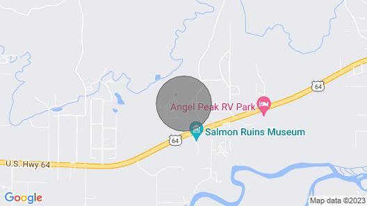 Modern Farmhouse - Farmington/4 Corners area, 45 min to Durango Map